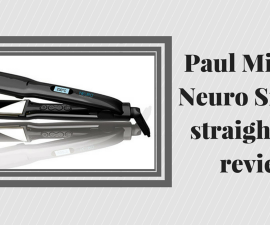Paul Mitchell Neuro Smooth hair straightener review TheFuss.co.uk