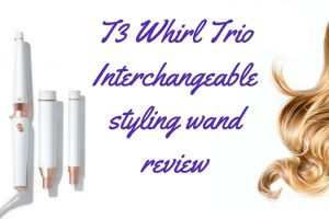 T3 Whirl Trio Interchangeable styling wand review TheFuss.co.uk