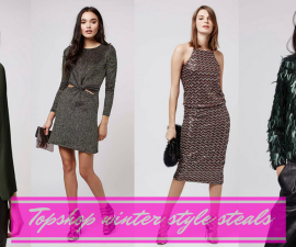 Topshop winter style steals