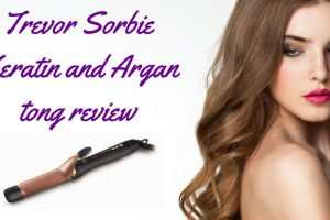 Trevor Sorbie Keratin And Argan Tong Review TheFuss.co.uk