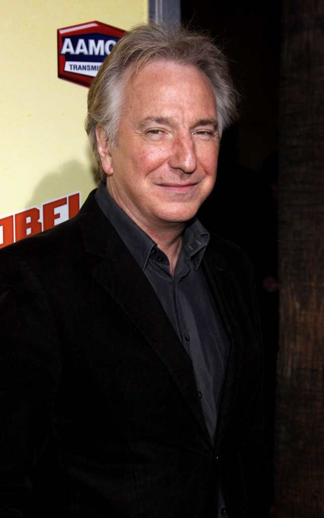 Alan Rickman was another shock passing in 2016 TheFuss.co.uk