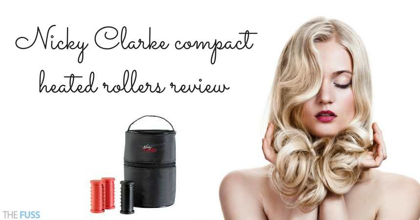 Nicky Clarke Compact Heated Rollers Review TheFuss Co Uk