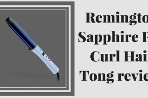 Remington Sapphire Pro Curl Hair Tong review TheFuss.co.uk