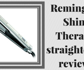 Remington Shine Therapy hair straightener review TheFuss.co.uk