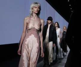 The slip dress took over runways for Spring Summer 2016 TheFuss.co.uk