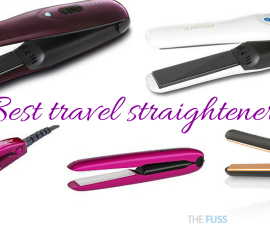 Best travel straighteners TheFuss.co.uk