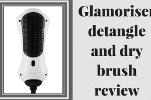 Glamoriser detangle and dry brush review TheFuss.co.uk