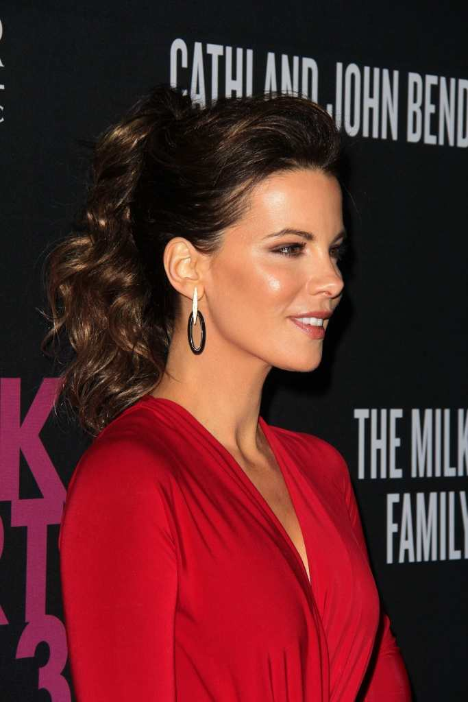 Kate Beckinsale has perfected her ponytail game TheFuss.co.uk