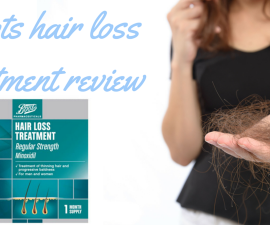 Boots hair loss treatment review TheFuss.co.uk