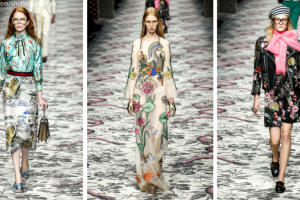 Gucci's SS16 collection was a vivid array of botanical prints TheFuss.co.uk