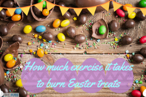 How much exercise it takes to burn those Easter treats TheFuss.co.uk