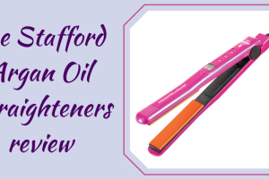 Lee Stafford Argan Oil Straighteners review TheFuss.co.uk
