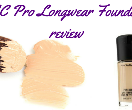 MAC Pro Longwear Foundation review TheFuss.co.uk