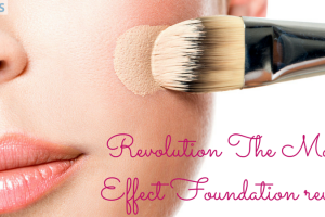 Revolution The Matte Effect Foundation review TheFuss.co.uk