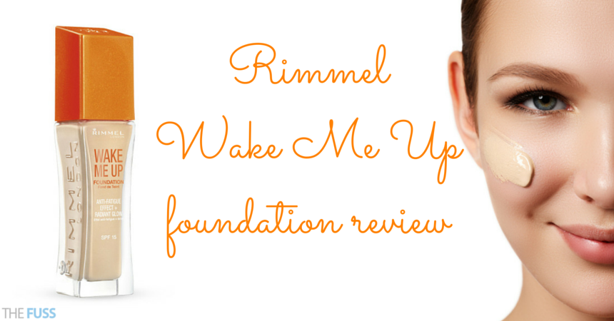 Rimmel Wake Me Up foundation review TheFuss.co.uk