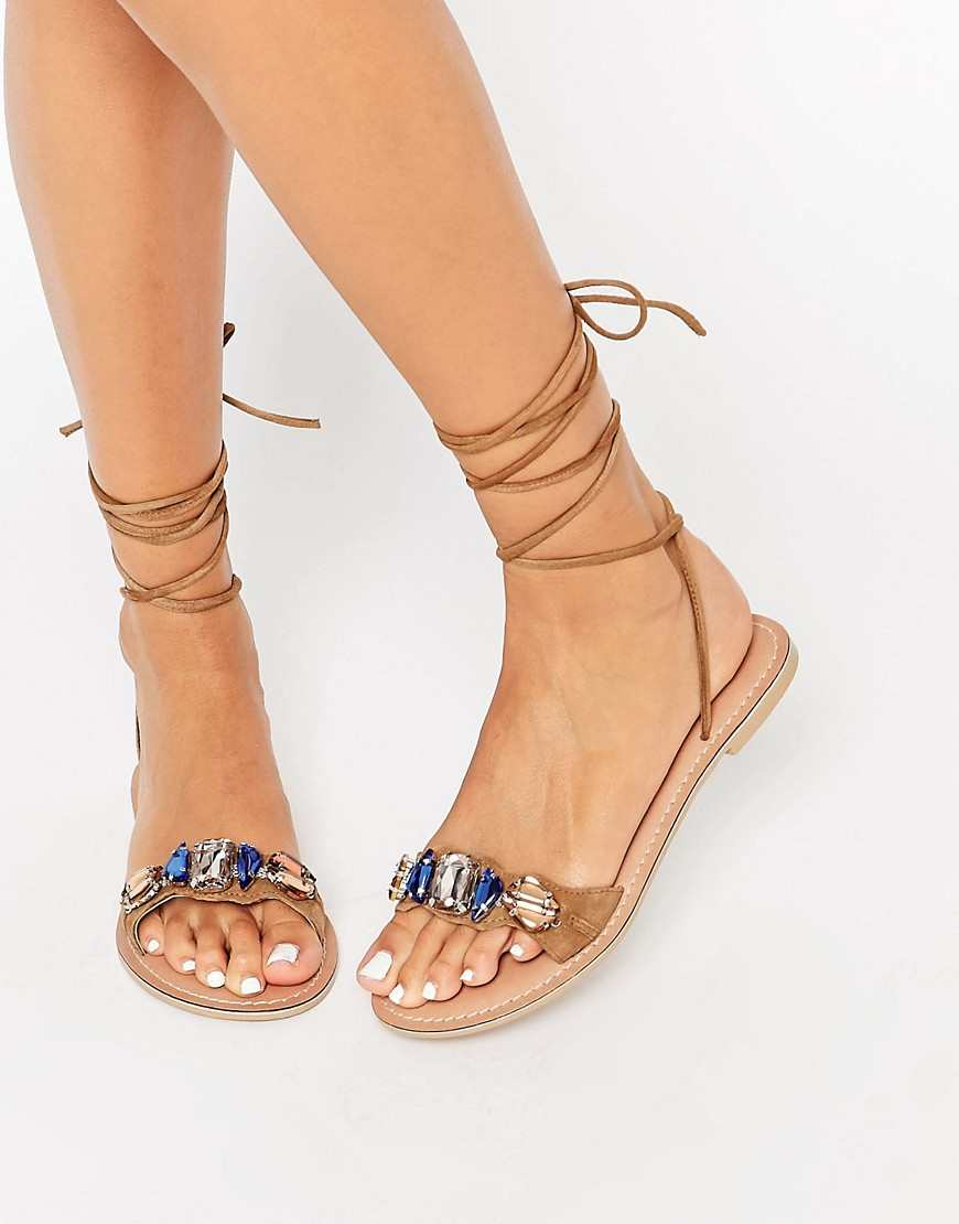 20 Pairs Of Leg Wrap Sandals Your Feet Needs The Fuss