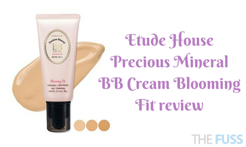 Etude House Precious Mineral BB Cream Blooming Fit review TheFuss.co.uk