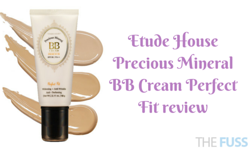 Etude House Precious Mineral BB Cream Perfect Fit review TheFuss.co.uk