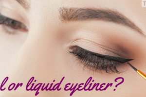 Gel or liquid eyeliner? TheFuss.co.uk