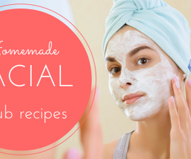 Homemade facial scrub recipes TheFuss.co.uk