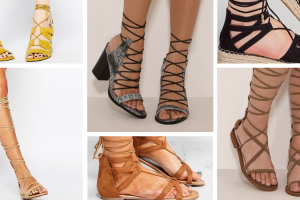 Leg wrap sandals your wardrobe needs TheFuss.co.uk
