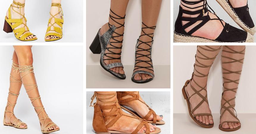 Leg wrap sandals your wardrobe needs TheFuss.co.uk