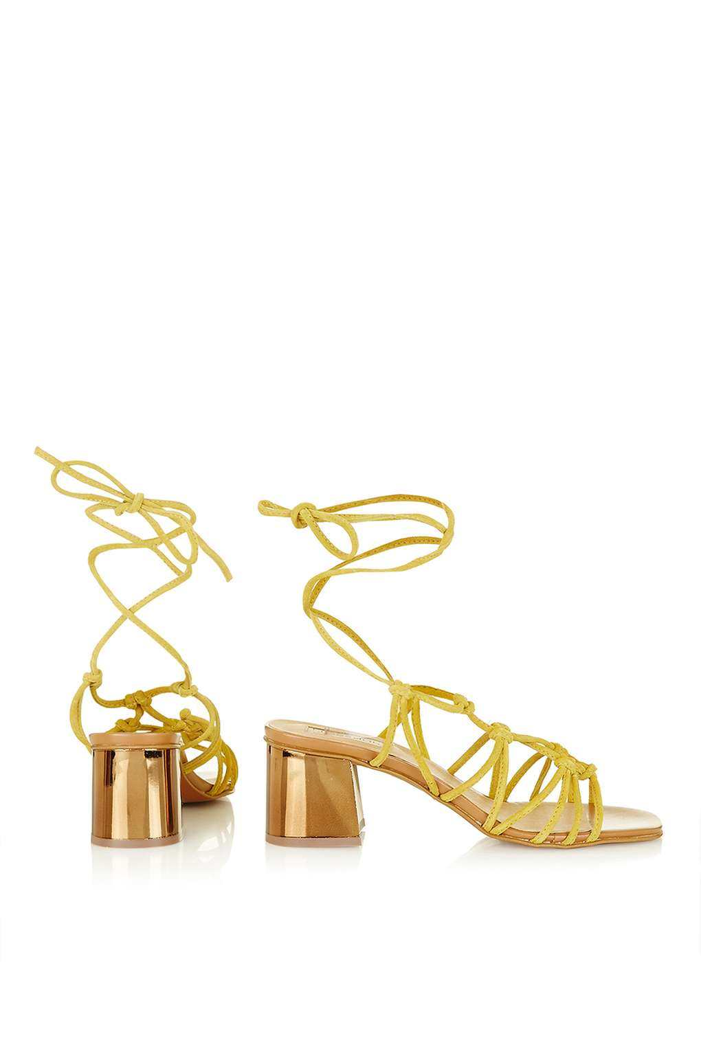 NAPOLI Knotted Heeled Sandals