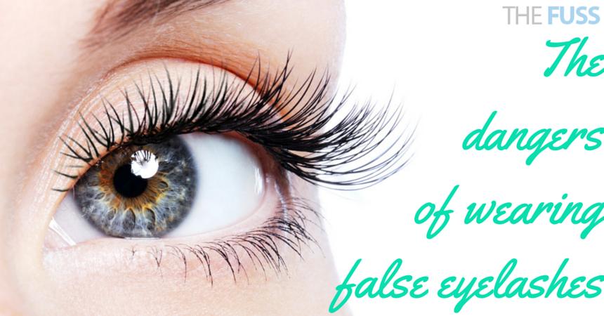 The dangers of wearing false eyelashes
