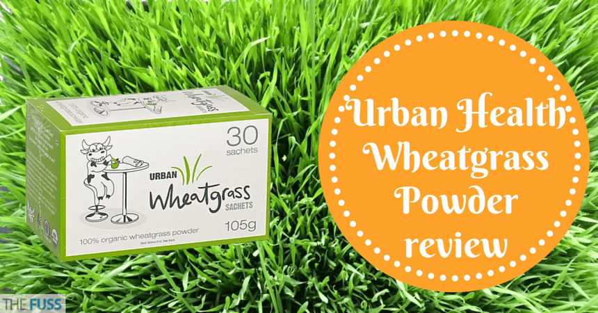 Urban Health Wheatgrass Powder review TheFuss.co.uk
