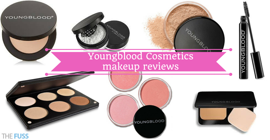 Youngblood Cosmetics makeup reviews TheFuss.co.uk