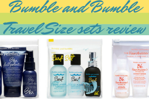 Bumble and Bumble Travel Size sets review TheFuss.co.uk