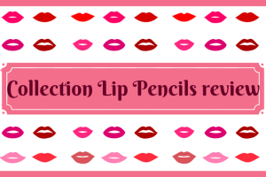 Collection Lip Pencils review TheFuss.co.uk