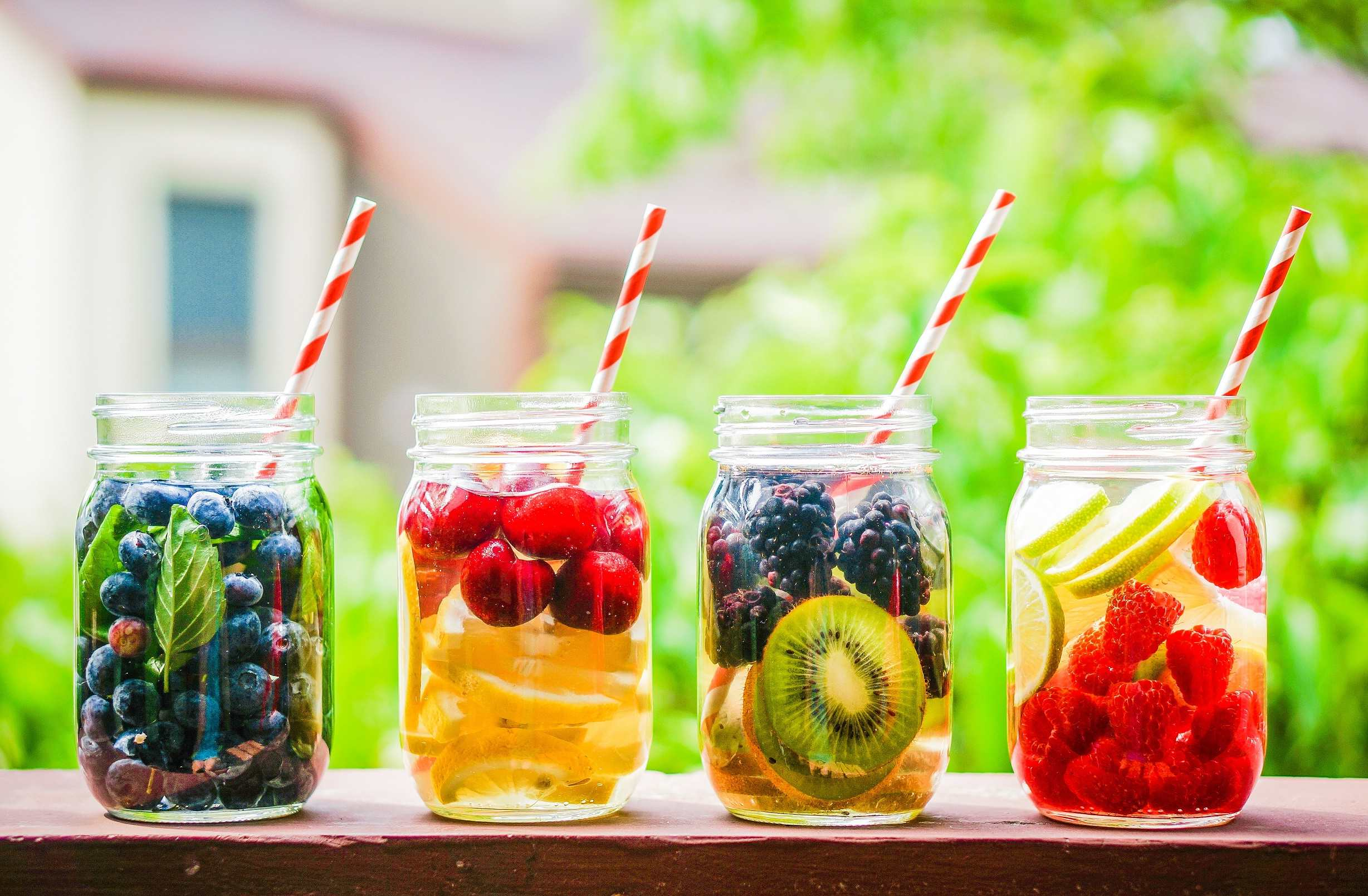 Add flavour to still water with different fruits TheFuss.co.uk