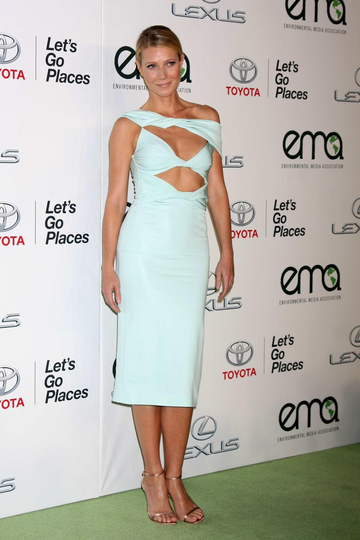 Gwyneth Paltrow wows in Cushnie Et Ochs TheFuss.co.uk