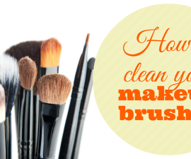 How to clean your makeup brushes TheFuss.co.uk