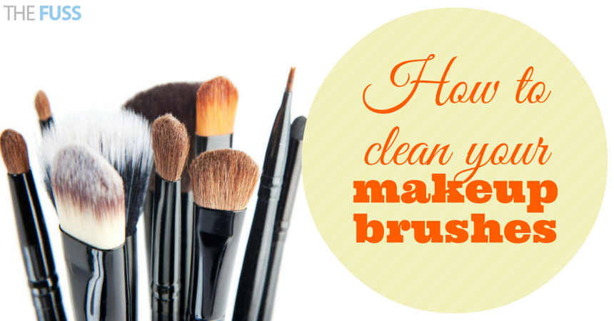 How to clean your makeup brushes - The Fuss