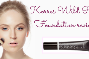 Korres Wild Rose Foundation review TheFuss.co.uk