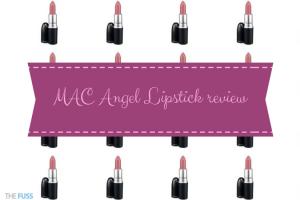 MAC Angel Lipstick review TheFuss.co.uk