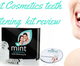 Mint Cosmetics teeth whitening kit review TheFuss.co.uk