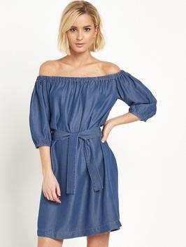 Miss Selfridge Bardot Tencel Dress