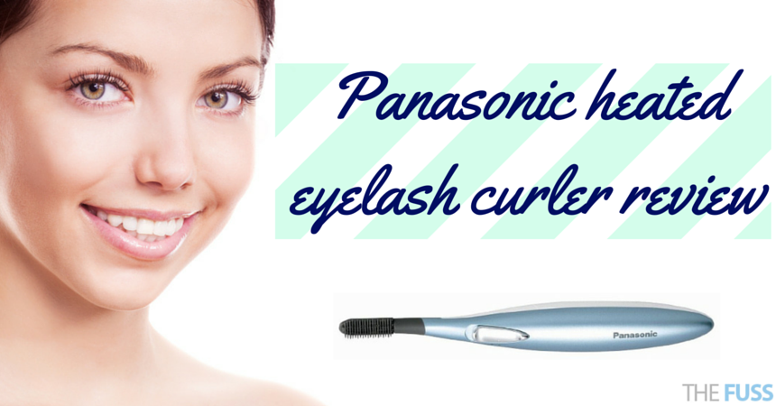 Panasonic heated eyelash curler review TheFuss.co.uk