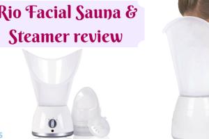 Rio Facial Sauna & Steamer review TheFuss.co.uk