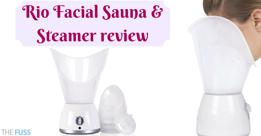 Rio Facial Sauna & Steamer review TheFuss.co.uk