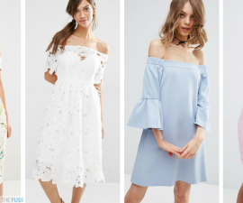 The off-the-shoulder dresses your wardrobe needs TheFuss.co.uk