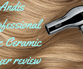 Andis Professional Ionic Ceramic hairdryer review TheFuss.co.uk