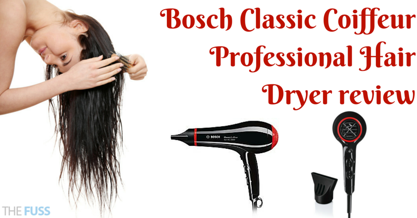Bosch Classic Coiffeur Professional Hair Dryer review TheFuss.co.uk