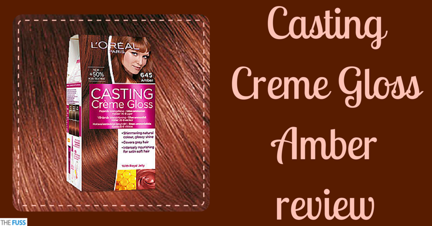 Casting Creme Gloss Amber review TheFuss.co.uk