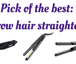 Pick of the best- Narrow hair straighteners TheFuss.co.uk