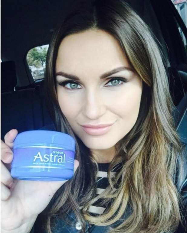 Sam Faiers declares her love from Astral cream on Instagram TheFuss.co.uk