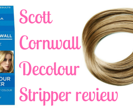 Scott Cornwall Decolour Stripper review TheFuss.co.uk